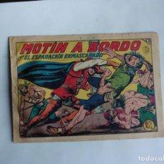 Tebeos: ESPADACHIN ENMASCARADO Nº 106 GAGO 1957 ORIGINAL. Lote 294443643