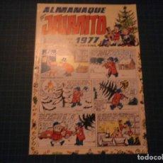 Tebeos: JAIMITO. N°1409. VALENCIANA. ALMANAQUE PARA 1977. MBE. (S-D). Lote 294980678