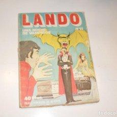 Tebeos: LANDO 13,EDICIONES ACTUALES,AÑO 1977.. Lote 295008123