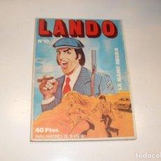Tebeos: LANDO 10,EDICIONES ACTUALES,AÑO 1977.. Lote 295008198