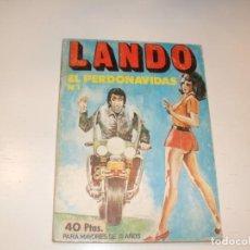 Tebeos: LANDO 1,EDICIONES ACTUALES,AÑO 1977.. Lote 295008263