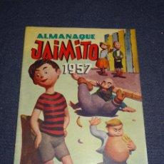 Tebeos: (M1) ALMANAQUE JAIMITO 1957 - EDT VALENCIANA, IMPECABLE ESTADO DE CONSERVACIÓN. Lote 295021388