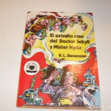 Tebeos: EL EXTRAÑO CASO DEL DOCTOR JEKYLL Y MISTER HYDE.EDITORIAL VALENCIANA,AÑO 1982.OJO,ES DE MARVEL.. Lote 295420798