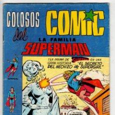 Tebeos: COLOSOS DEL COMIC LA FAMILIA SUPERMAN Nº 4 (VALENCIANA 1979). Lote 295460413