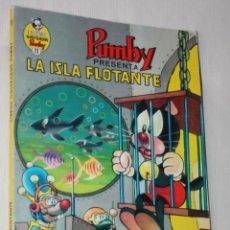 Tebeos: LIBROS ILUSTRADOS PUMBY Nº 11 :LA ISLA FLOTANTE. Lote 295510118
