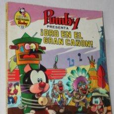 Tebeos: LIBROS ILUSTRADOS PUMBY Nº 13 : ORO EN EL GRAN CAÑON. Lote 295510583