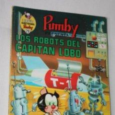 Tebeos: LIBROS ILUSTRADOS PUMBY Nº 29 : LOS ROBOTS DEL CAPITAN LOBO. Lote 295510908