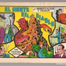 Tebeos: ROBERTO ALCÁZAR Y PEDRÍN. Nº 7. EL MONTE DEL DIABLO. VALENCIANA, REEDICIÓN 1981.(P/C51). Lote 295693633
