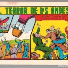 Tebeos: ROBERTO ALCÁZAR Y PEDRÍN. Nº 20. EL TERROR DE LOS ANDES. VALENCIANA, REEDICIÓN 1981.(P/C51). Lote 295693818