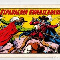 Tebeos: EL ESPADACHIN ENMASCARADO Nº 1 (VALENCIANA 2ª EDICION 1981). Lote 295707863
