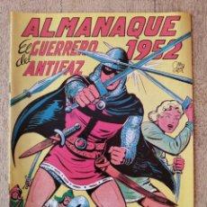 Tebeos: ALMANAQUE 1952, EL GUERRERO DEL ANTIFAZ, REEDICION. Lote 295711303