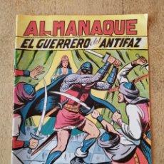 Tebeos: ALMANAQUE 1951, EL GUERRERO DEL ANTIFAZ, REEDICION. Lote 295715353