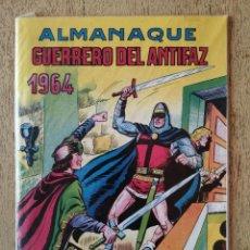 Tebeos: ALMANAQUE 1964, EL GUERRERO DEL ANTIFAZ, REEDICION. Lote 295721233