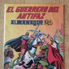 Tebeos: ALMANAQUE 1965, EL GUERRERO DEL ANTIFAZ, REEDICION. Lote 295738743