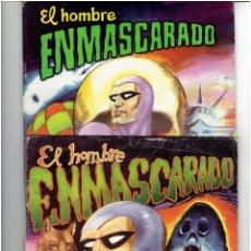 Tebeos: ARCHIVO * EL HOMBRE ENMASCARADO * COLOSOS DEL COMIC N°1, 2 * EDITORA VALENCIANA 1980*. Lote 295810978
