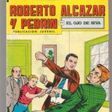 Tebeos: ROBERTO ALCAZAR Y PEDRÍN. Nº 207. EL OJO DE SIVA. 2ª ÉPOCA. VALENCIANA, 1976. (P/C25). Lote 295839598