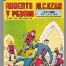 Tebeos: ROBERTO ALCAZAR Y PEDRÍN. Nº 209. HOMBRES EN LA LUNA. 2ª ÉPOCA. VALENCIANA, 1976. (P/C25). Lote 295839693
