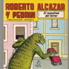 Tebeos: ROBERTO ALCAZAR Y PEDRÍN. Nº 233. EL MOSTRUO DEL TERROR. 2ª ÉPOCA. VALENCIANA, 1976. (P/C25). Lote 295839833