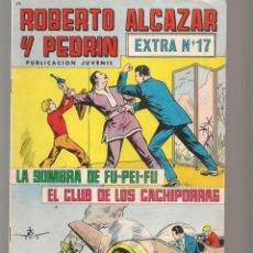 Tebeos: ROBERTO ALCAZAR Y PEDRÍN. EXTRA Nº 17. VALENCIANA, 1976. (P/C25). Lote 295840238