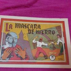 Tebeos: LA MÁSCARA DE HIERRO EDITORIAL VALENCIANA SELECCIÓN AVENTURERA. Lote 295841168