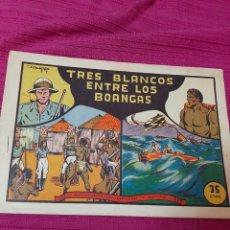 Tebeos: TRES BLANCOS ENTRE LOS BLANCAS EDIT VALENCIANA SELECCIÓN AVENTURERA, DIBUJANTE MANUEL GAGO. Lote 295841888