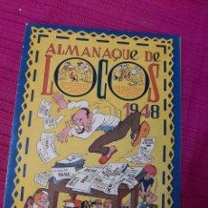 Tebeos: ALMANAQUE DE LOCOS 1948. Lote 295843873
