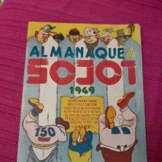 Tebeos: ALMANAQUE DE LOCOS 1949. Lote 295844048