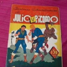 Tebeos: JULIO Y RICARDO ,ALMANAQUE 1945. Lote 295844218