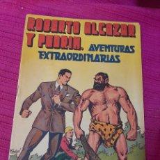 Tebeos: ROBERTO ALCAZAR Y PEDRIN AVENTURERAS EXTRAORDINARIAS ALMANAQUE 1946. Lote 295844473