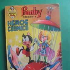 Tebeos: LIBROS ILUSTRADOS PUMBY Nº 32 HEROE COSMICO EDITORIAL VALENCIANA. Lote 296578908