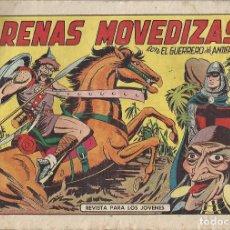 Tebeos: EL GUERRERO DEL ANTIFAZ Nº 432 - ARENAS MOVIDIZAS. Lote 296583013
