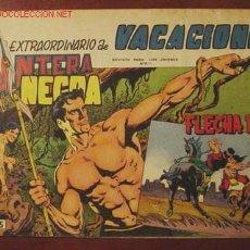 Tebeos: PANTERA NEGRA Y FLECHA ROJA ( MAGA ). EXTRA VACACIONES 1965. Lote 27125816