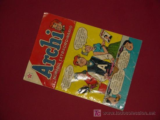 ARCHI. EXTRAORDINARIO 1959 (NOVARO). ¡¡ COLECCIONISMO DE ELITE !! (Tebeos y Cómics - Tebeos Extras)