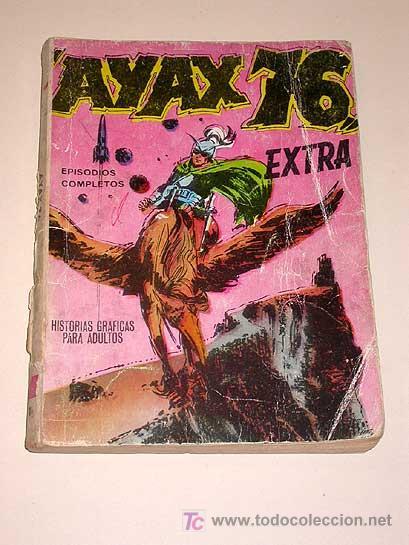 AYAX 76. Nº 1. EXTRA. JOSE MARIA BELLALTA. EDICIONES BOIXHER, BARCELONA 1968. (Tebeos y Cómics - Tebeos Extras)