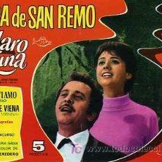Tebeos: CLARO DE LUNA EXTRA FESTIVAL DE SAN REMO. Lote 6029809