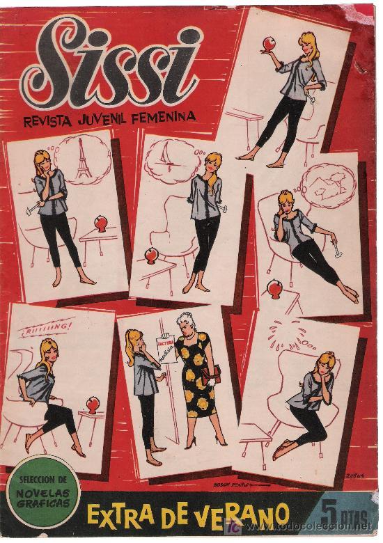SISSI. SELECCIÓN DE NOVELAS GRÁFICAS. EXTRA DE VERANO (1960) (Tebeos y Cómics - Tebeos Extras)