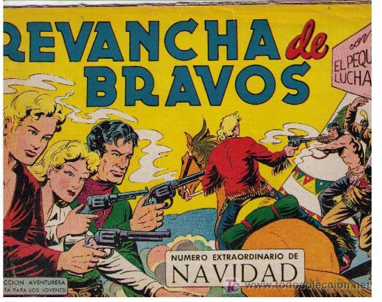 EL PEQUEÑO LUCHADOR. EXTRAORDINARIO DE NAVIDAD (1961) (Tebeos y Cómics - Tebeos Extras)