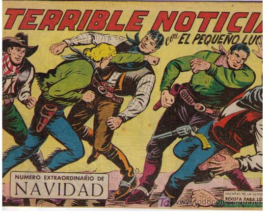 EL PEQUEÑO LUCHADOR. EXTRAORDINARIO DE NAVIDAD (1963) (Tebeos y Cómics - Tebeos Extras)
