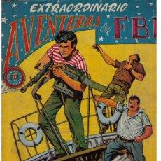 Tebeos: EXTRAORDINARIO DEL FBI Nº 5. Lote 27507079
