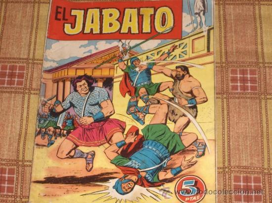 EL JABATO EXTRA VERANO 1958. BRUGUERA 5 PTS. (Tebeos y Cómics - Tebeos Extras)