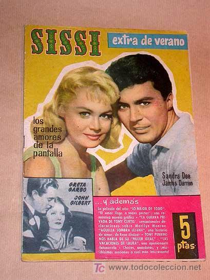 SISSI EXTRA DE VERANO. TONY PERKINS, SANDRA DEE, JAMES WARREN, TONY CURTIS, MARILYN MONROE. IÑIGO ++ (Tebeos y Cómics - Tebeos Extras)