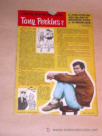 Tebeos: SISSI EXTRA DE VERANO. TONY PERKINS, SANDRA DEE, JAMES WARREN, TONY CURTIS, MARILYN MONROE. IÑIGO ++ - Foto 5 - 25762920