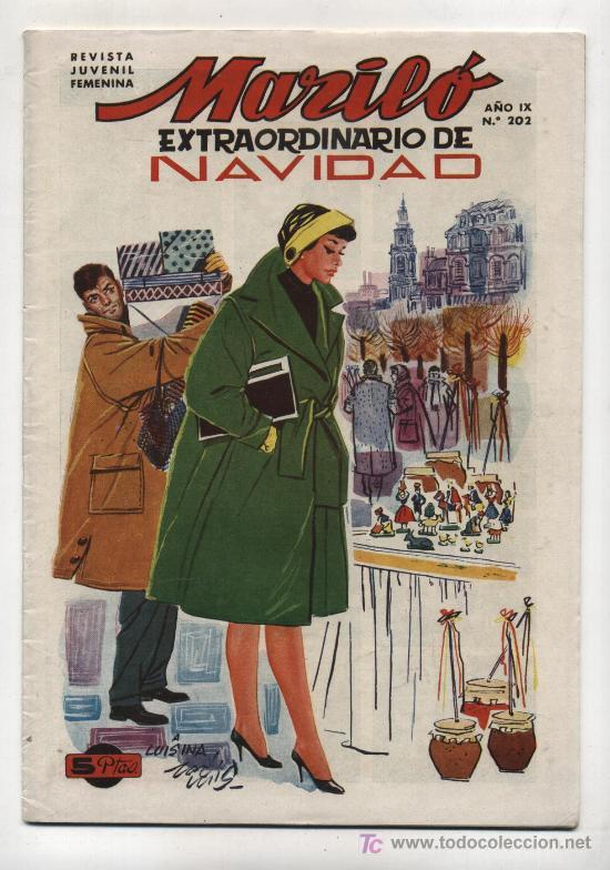 MARILÓ Nº 202. EXTRAORDINARIO DE NAVIDAD 1958 (Tebeos y Cómics - Tebeos Extras)