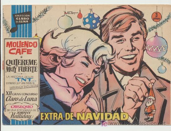 CLARO DE LUNA.EXTRA DE NAVIDAD (1962) (Tebeos y Cómics - Tebeos Extras)