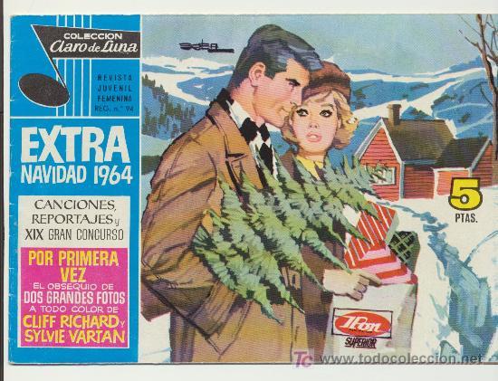 CLARO DE LUNA.EXTRA DE NAVIDAD 1964 (Tebeos y Cómics - Tebeos Extras)