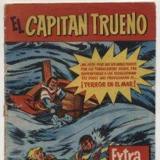 Tebeos: EL CAPITÁN TRUENO.EXTRA DE VERANO (1960). TERROR EN EL MAR.. Lote 17548009