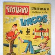 Tebeos: TIO VIVO ,N. 79 , EXTRAORDINARIO DEDICADO A LOS VAGOS,. Lote 26957745