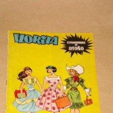 Tebeos: FLORITA EXTRAORDINARIO DE OTOÑO, CLIPER 1958. PÉREZ FAJARDO, PILI BLASCO, RIPOLL G. BADÍA. LA CHUNGA. Lote 25734426