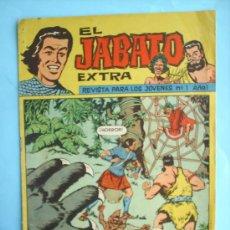 Tebeos: EL JABATO EXTRA N.1- 1962 EDITORIAL BRUGUERA. Lote 26454846