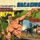 Tebeos: PANTERA NEGRA , FLECHA ROJA , EXTRAORDINARIO VACACIONES , ORIGINAL, ANTIGUO,. Lote 104808384